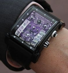 Christophe Claret Dual Tow NightEagle Watch