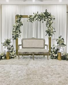 Solemnisation of Zam & Sandra Bangi… Wedding Backdrop Design, Wedding Reception Backdrop, Simple Wedding Decorations, Backdrop Decorations, Background Decoration, Backdrops, Wedding Mandap, Wedding Receptions, Wedding Table
