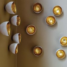 Wall Seed 10pc Gold by  Transformative Wall Art