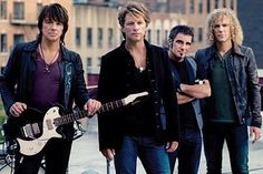 every night when i was young mum  always puts on bon jovi so loud the neibours can hear it