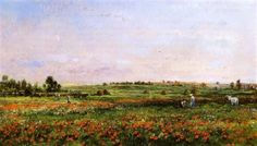 Charles-Francois Daubigny - Fields in the Month of June