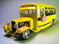 Hot rod school bus | Mark Traffic