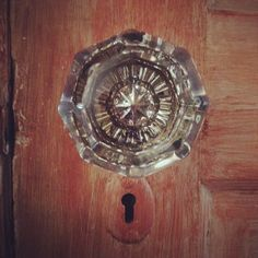This is what I grew up with. Virtually every door had knobs like these. You'd think I'd hate them cuz one of my chores was to polish these & the brass fixings, but I still adore them!