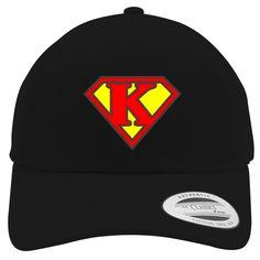 Super K Embroidered Cotton Twill Hat