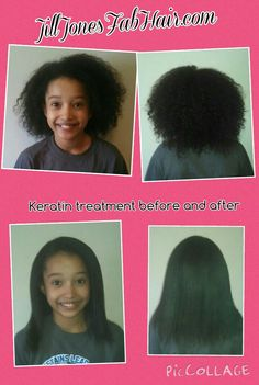 What is a keratin treatment? (Before and after)