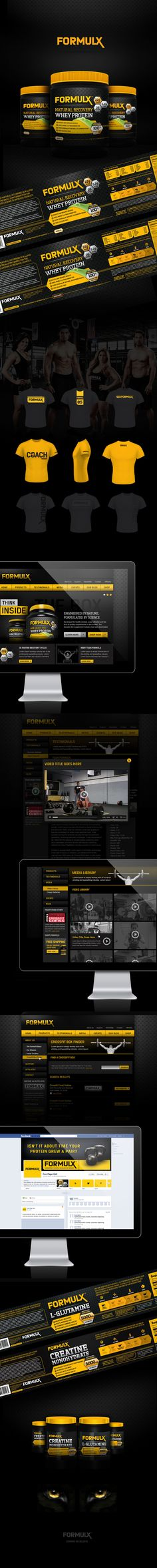 FormulX Branding by- Pons Creative Group
