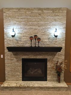 44 Best Recycled Granite Fireplaces Images Granite Fireplace