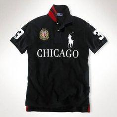 f2d016f6d25c9 Custom-Fit Big Pony Polo ville de Chicago Ralph Lauren Hombre