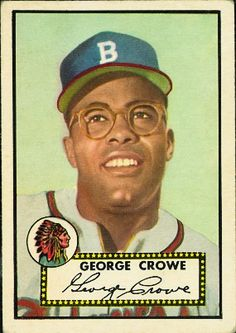 George Crowe 1952 First Base