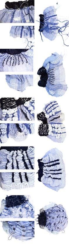 experimental weaving - Melinda Urbansdotter