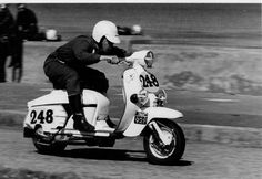The Scooterist: Lambrettas, racing and speed records