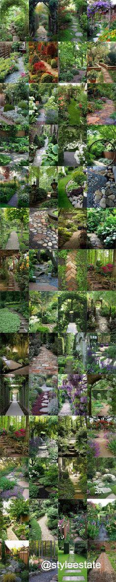 56 Enchanting Garden Paths