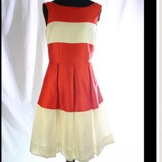 Kate spade $398 new orange gayle dress 2 Brand new dress with tag attached. Size 2. This is so darling... I had it in black also and wore to graduation party. It's very Audrey Hepburn with some pearls and kitten heels. Flattering fit and flare shape. kate spade Dresses