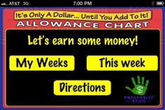 Allowance chart App