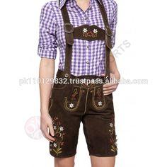 Cow suede leather trachten german hosen , german trachten/Leder Trachten Shorts