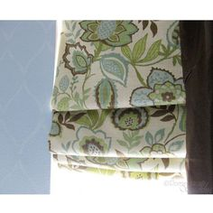 Beautiful fabric is a must when trying to achieve a look like this on this custom window valance.