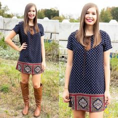 """This is a fan favorite! Get our """"Harvest Moon Dress"""" for $37 on www.AthenaAttire.com"""