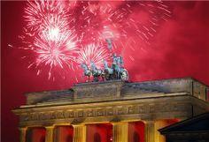 Berlin New year celebrations