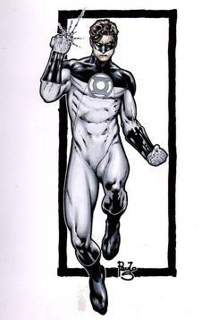 Green Lantern... my reboot by PauloSiqueira on deviantART