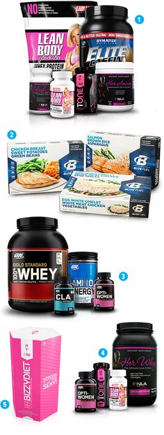 Best Supplement Stacks For Women - 2014 Holiday Fit Gift Guide - Bodybuilding.com