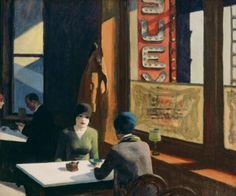 Edward Hopper Chop Suey 1929
