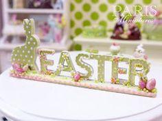 The Mini Food Blog: Easter ~ Paris Miniatures