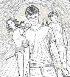 Hottest New Coloring Books December 2017 Roundup Grossartige Zeichnungen Kunstzeichnungen Harry Potter Ausmalbilder