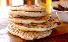 Biltong Flat Bread -
