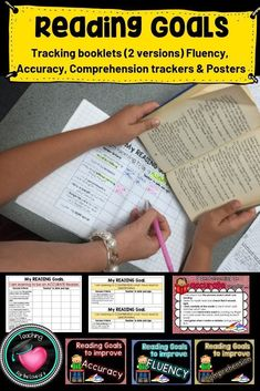 I am really excited about this resource as I have been wanting to be able to help the children track their reading skills for some time now. It took me a while to figure out a workable process and I believe after using it with my class, I have. The resource includes posters and various types of tracking sheets. 85 Pages
