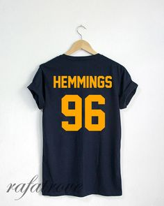 03b75ff16e60 Jersey Luke Hemmings Shirt Hemmings 96 Tshirt Unisex by RafaTrove