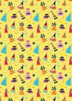 Scrapbook Paper Party Hats