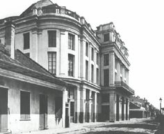 Old French Opera House built in 1859 on Bourbon and Toulouse Streets