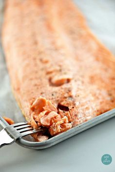 Baked Salmon that turns out perfectly every time. Ready in about 15 minutes, this baked salmon recipe is a weeknight and entertaining favorite!