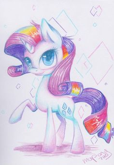 rainbow Rarity by mapony240.deviantart.com on @DeviantArt