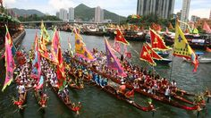 Hong Kong's dragon boat festivities, 23rd June