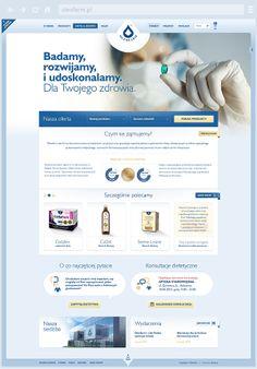 Oleofarm - manufactory of health on Behance by Tomek Tuz