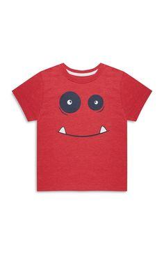 Primark - Babyshirt met monsterprint