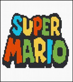 Super Mario pattern by PlentyOfGraphPattern