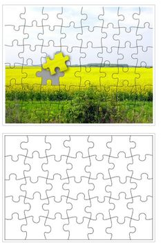 Free Printable Puzzle Templates | Free Homeschool Deals ©