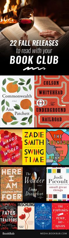 22 fall book club recommendations for women, including must read books from Anne Patchett and Karin Slaughter.