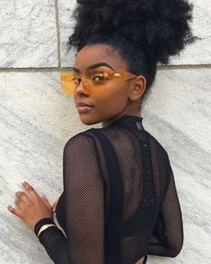 Afro hair is typically associated with natural curls that have a thick, frizzy texture. Such a distinctive type of hair might seem hard to manage, but this has not stopped African beauties from spo… Afro Hairstyles, Black Women Hairstyles, Hairdos, Popular Hairstyles, Natural Hair Hairstyles, Hair Updo, Natural Hair Care, Natural Hair Styles, Natural Hair Puff