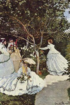 Women in the Garden, by Claude Monet