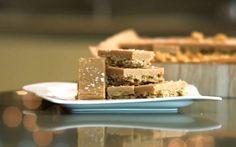 Scrummy Salted Caramel Flapjacks Recipe by Andy Bates