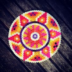 Mandala hama beads by kimminita