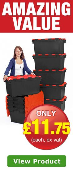 Buy Plastic Storage Boxes, Containers and Crates from Plastor. Bulk Buy Savings Available. View the range online or call 01628 829800 and request a quote. Plastic Crates, Plastic Box Storage, Crate Storage, Plastic Containers, Storage Containers, Storage Boxes, Storage Spaces, Office Moving, Recycling