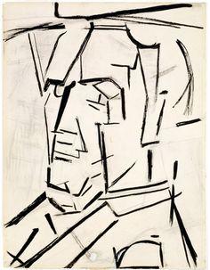 Piet Mondrian Self-Portrait, 1942. Dallas Museum of Art.