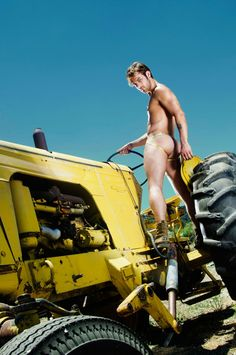 naked farm guys on tractors