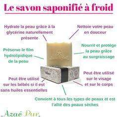 Bienfaits du savon saponifié à froid SAF