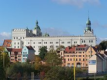 The Ducal Castle in Szczecin, Poland, was the seat of the dukes of Pomerania-Stettin of the House of Pomerania (Griffins), who ruled the Duchy of Pomerania from 1121 to 1637.