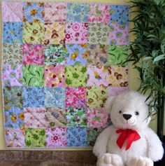 Learning How to Quilt Baby Quilt Patterns – Using The Square